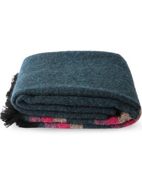 DORIS for HKLIVING: fluffy throw blue (130x150)