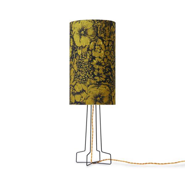 DORIS for HKLIVING: printed cylinder lamp shade floral
