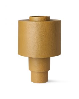 gesso table lamp matt mustard