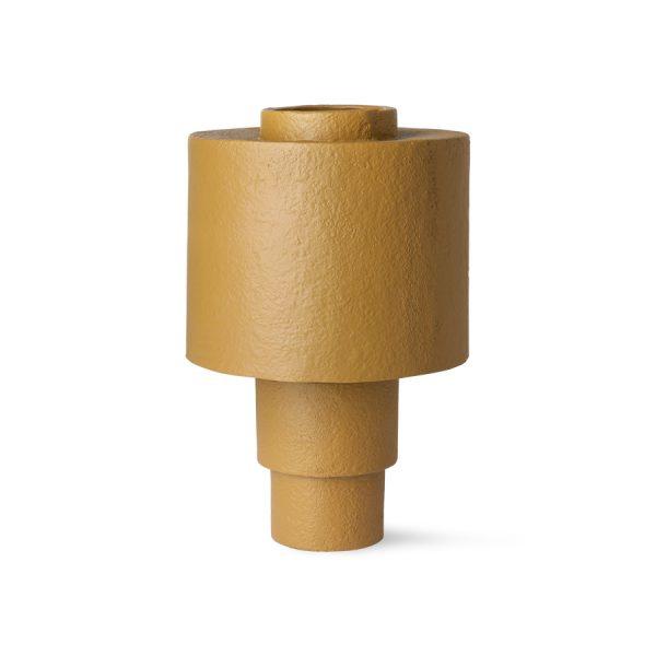 gesso table lamp matt mustard